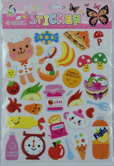 Sticker Sweet Biskuit