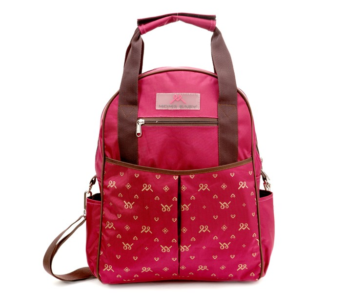 MBT7108 Tas Bayi Ransel Moms Baby Back Pack Chic Series Maroon
