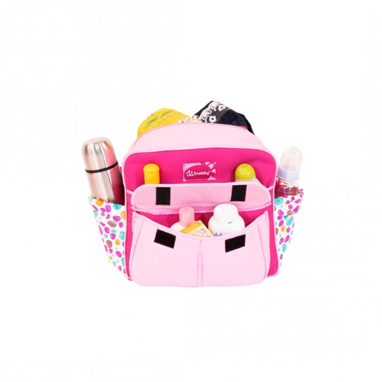 Tas Bayi Kecil Happy Bubble Pink Snobby TPT2273