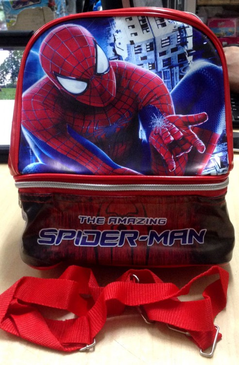 Tas Lunch Box Aluminium Foil 2 Susun Spiderman 17110041