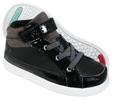 Sepatu Anak ToeZone Brooke Ch Black - Charcoal