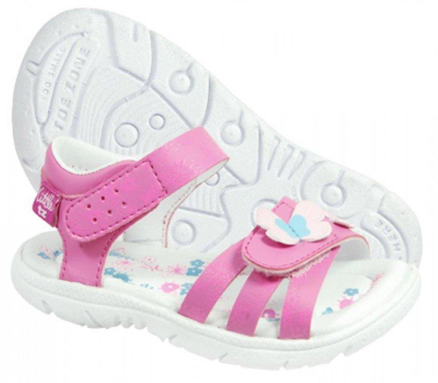 Sepatu Anak ToeZone Zinnia Td Flora - Pink