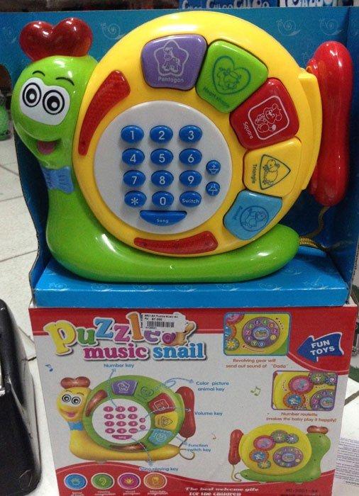 Puzzle Music Snail