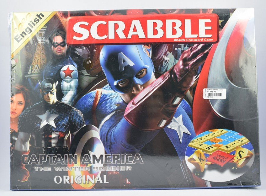 Scrabble Captain America (Avengers)