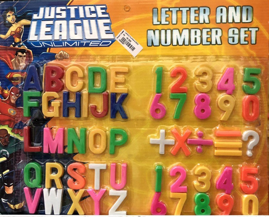 Letters and Numbers Set 18080057