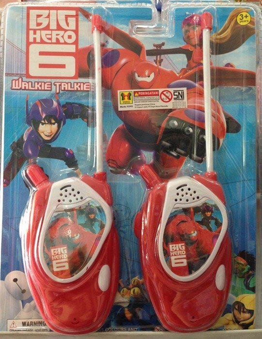 Walkie Talkies Big Hero