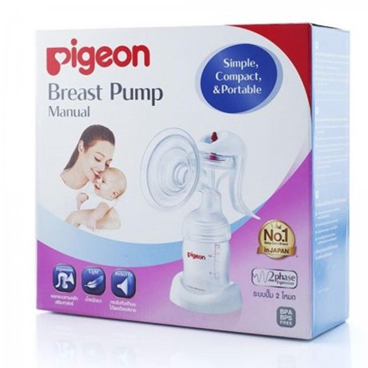 Manual Breast Pump Pigeon