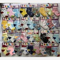 Kaos Kaki 3 In 1 Baby Socks Girl 14070026
