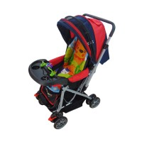 Baby Stroller Pliko Creative Classic 218 - Red