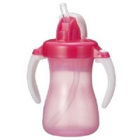 Botol Minum Sedotan Pigeon Pink