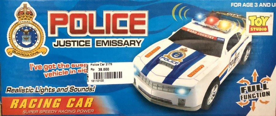 Mainan Police Car 18110100