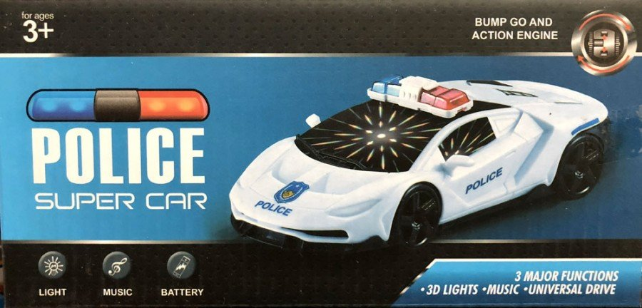 Mainan Mobil Police 18110102