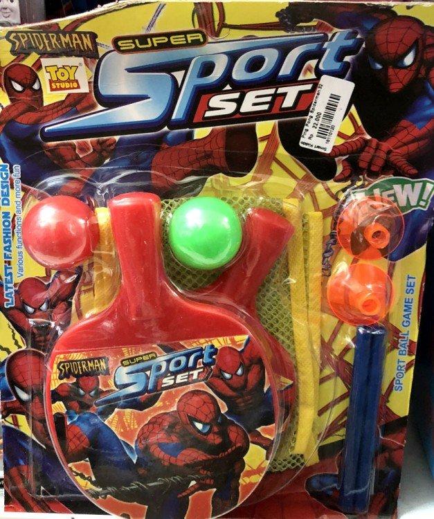 Mainan Ping Pong Spiderman 18110120