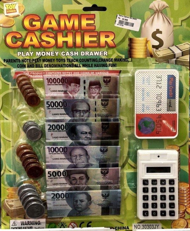 Mainan Uang Game Cashier 18110124