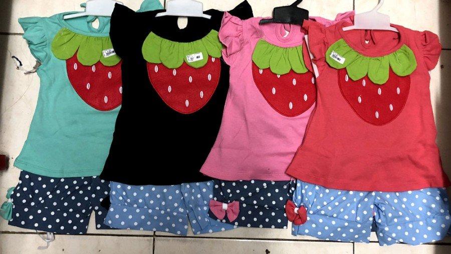 Setelan Cewek Strawberry 18120014