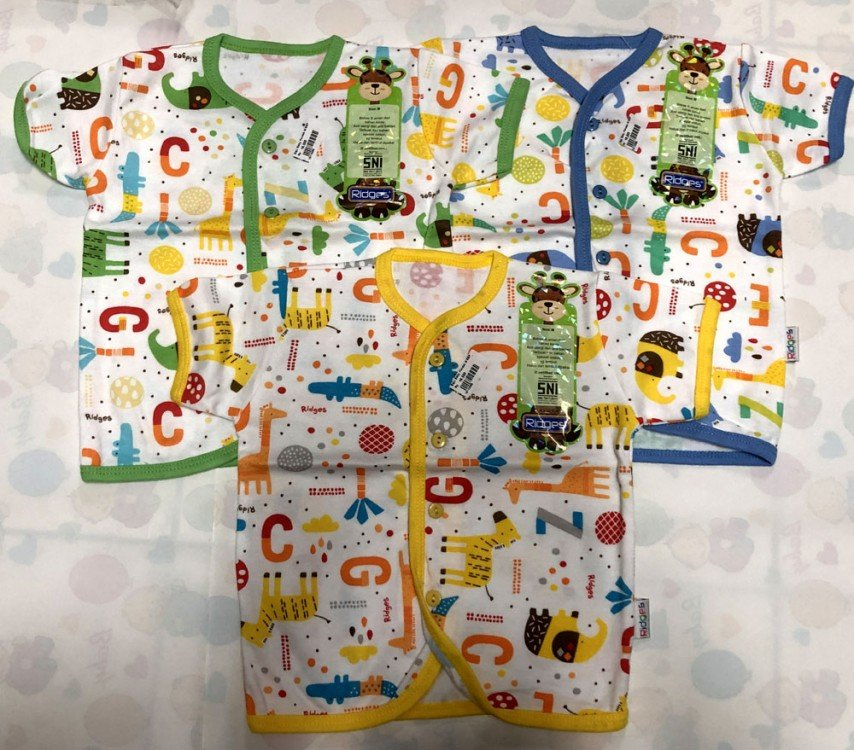 Baju Baby Pendek Ridges L Zeg Block 18110056