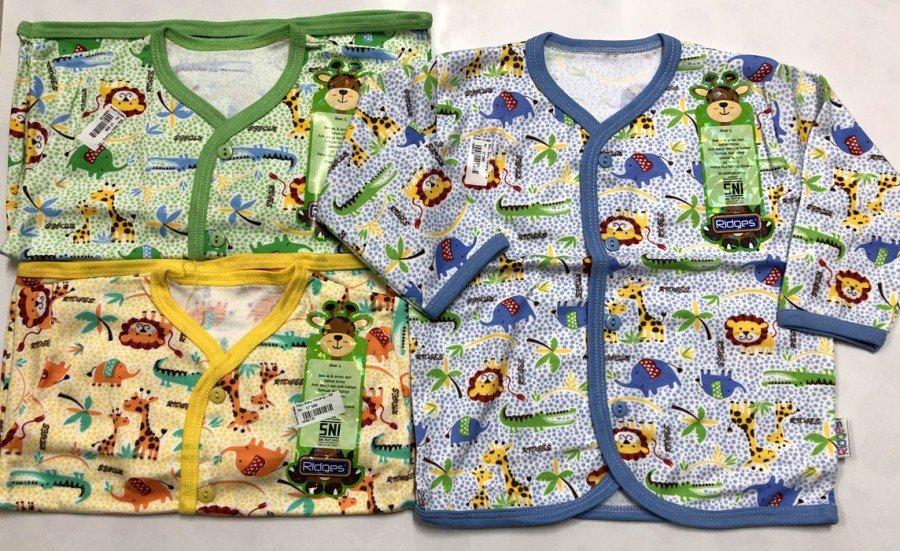 Baju Baby Panjang Ridges M Jungle Background 18050123