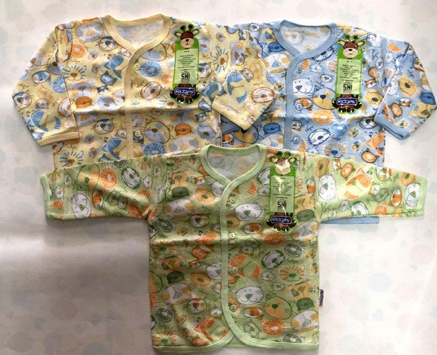 Baju Baby Panjang Ridges L Pussy Cat 18100070
