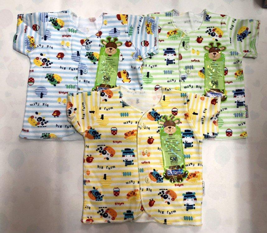 Baju Baby Pendek Ridges Newborn Big Farm 18100168