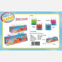 Fun Doh Magic Sand Twin Castle 18120033