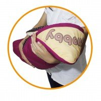Gendongan Bayi / Blanket / Selimut Bayi Topi Print Awesome Dotty Snobby TPB1431 - Ungu