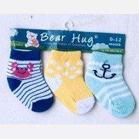 Kaos Kaki 3 In 1 Bear Hug 18120097