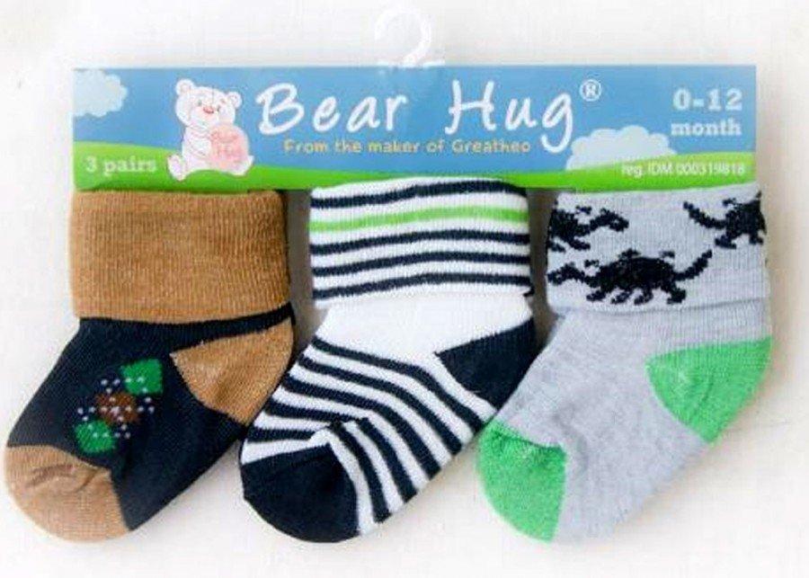 Kaos Kaki 3 In 1 Bear Hug 18120104