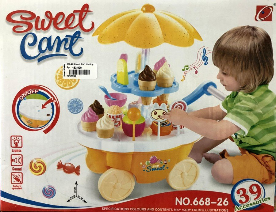 Mainan Sweet Cart 18120108