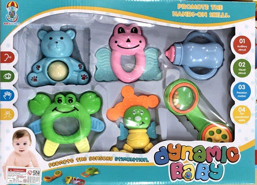 Mainan Kerincingan Bayi Dinamic Baby Rattles 18120112
