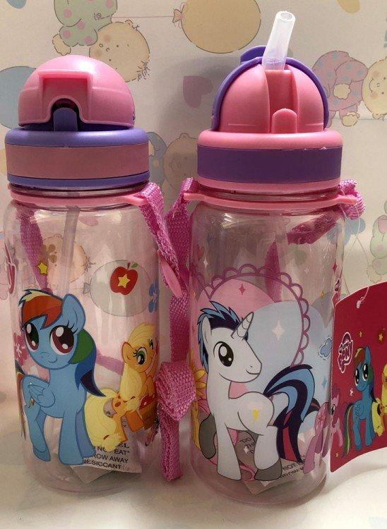 Botol Minum Sedotan Little Pony 18120144
