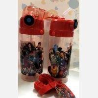 Botol Minum Sedotan Avengers Merah 18120157