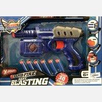 Mainan Pistol Peluru Rapid Fire Dart Blasting 18120127
