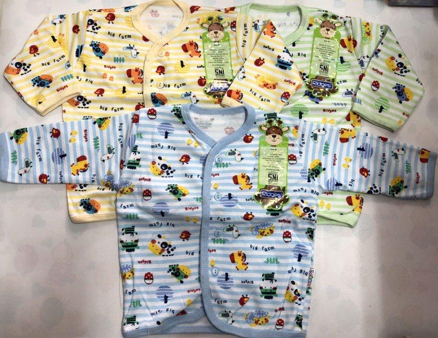 Baju Baby Panjang Ridges L Big Farm 18100175