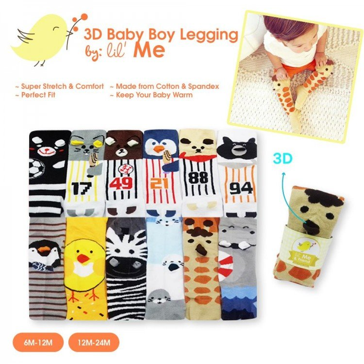 Legging Little Boy 6-12 months