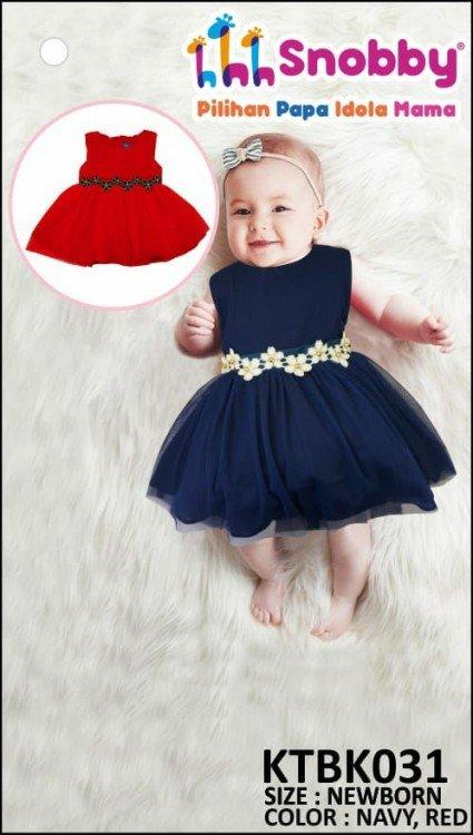 Terusan Gaun Snobby Newborn Alya 19010020