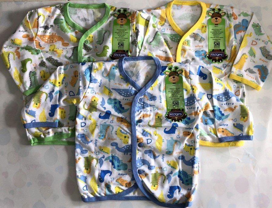 Baju Baby Panjang Ridges M Dino 19010004