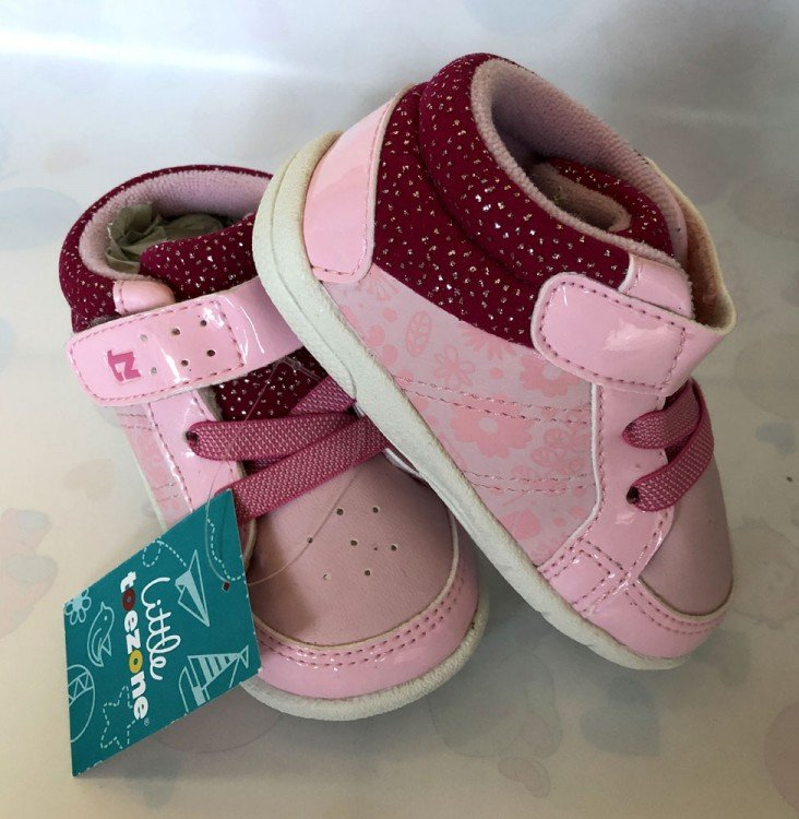 Sepatu Anak ToeZone Brooke Fs Pink / FLora 19010023