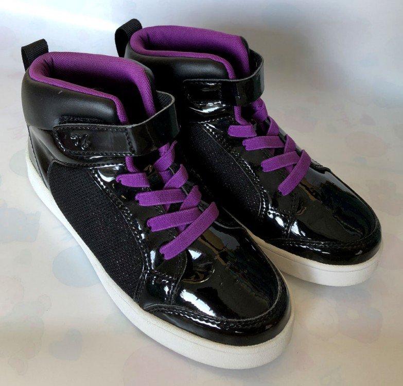 Sepatu Anak ToeZone Orville Ch Black Purple 19010028