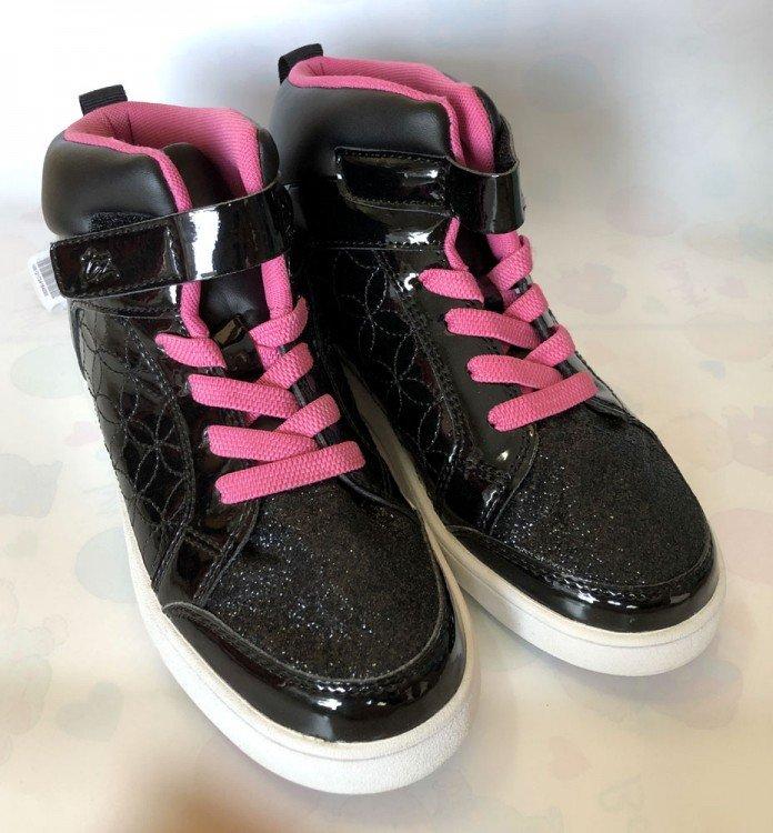 Sepatu Anak ToeZone Orville Yt Black Flora 19010030