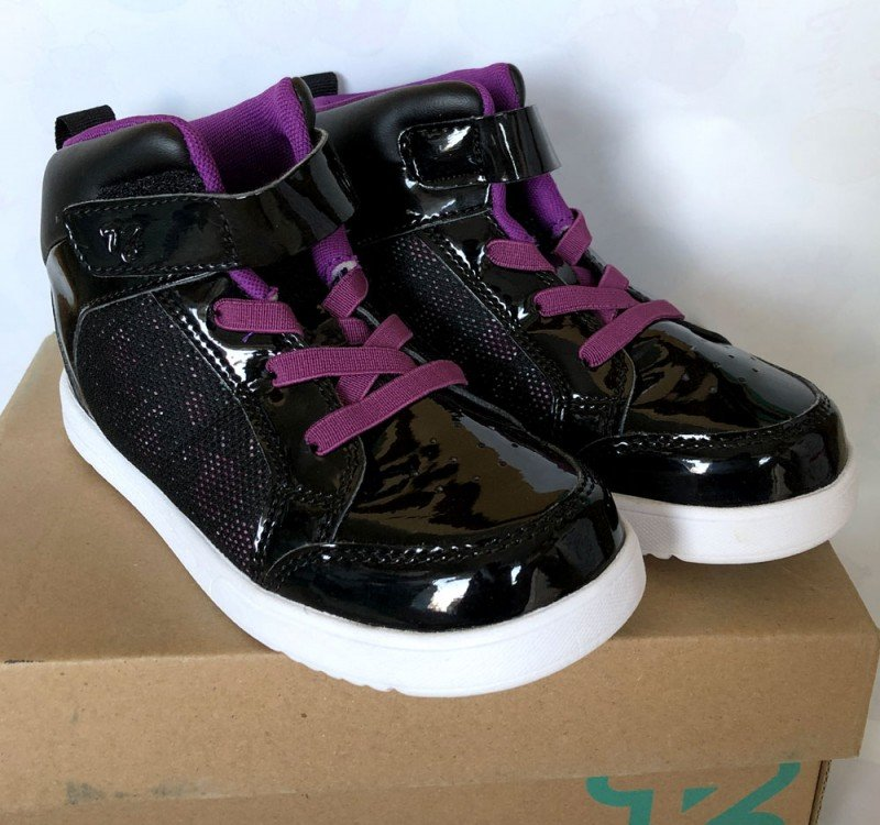 Sepatu Anak ToeZone Orville Yt Black Purple 19010031