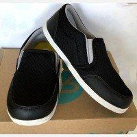 Sepatu Anak ToeZone Tampa Flex Black Gray 19010033