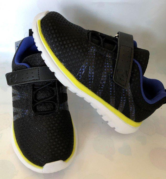 Sepatu Anak ToeZone Topher Ch Black Blue 19010039