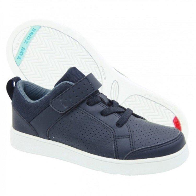 Sepatu Anak ToeZone Wilbur Yt Black Gray 19010042