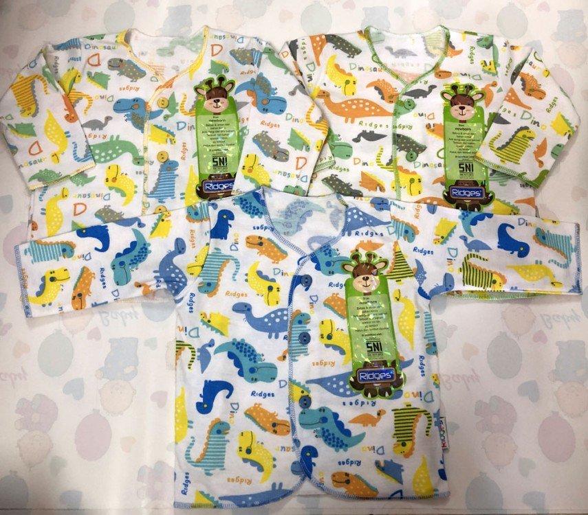 Baju Baby Panjang Ridges NewBorn Dino 19010060
