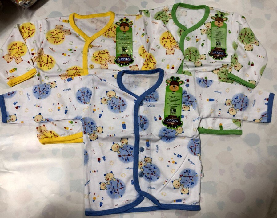 Baju Baby Panjang Ridges L Tree and Bears 19020034