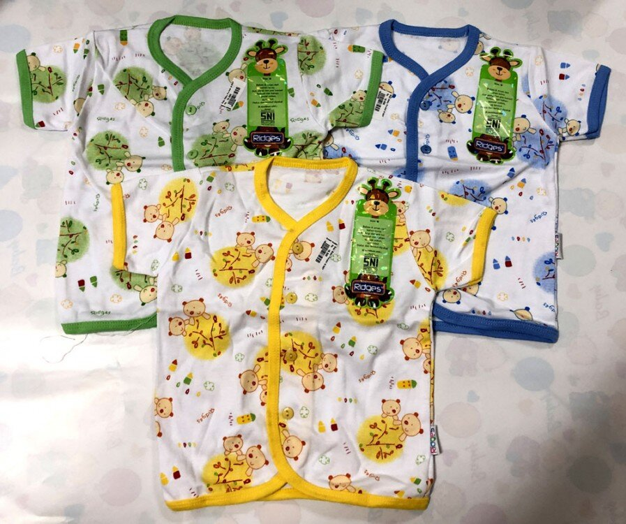 Baju Baby Pendek Ridges M Tree and Bears 19020035