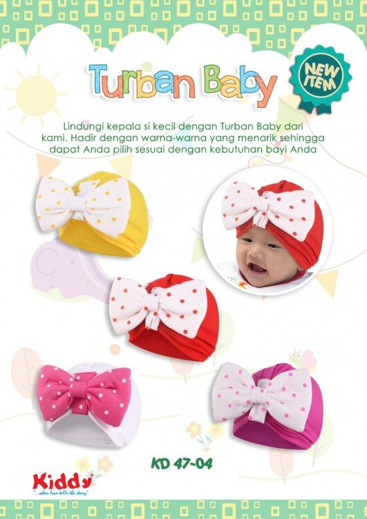 Turban Bayi Pita Kiddy 19020014