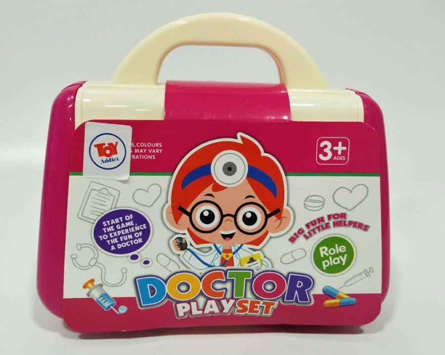 Mainan Doctor Set 19020046 - Pink