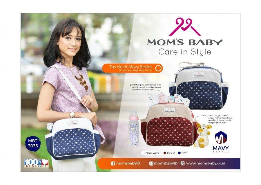 Tas Bayi Kecil Mavy Series Moms Baby MBT3035 - Maroon