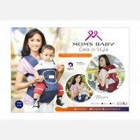 Gendongan Bayi Hipseat Mavy Series Moms Baby MBG2018 - Maroon